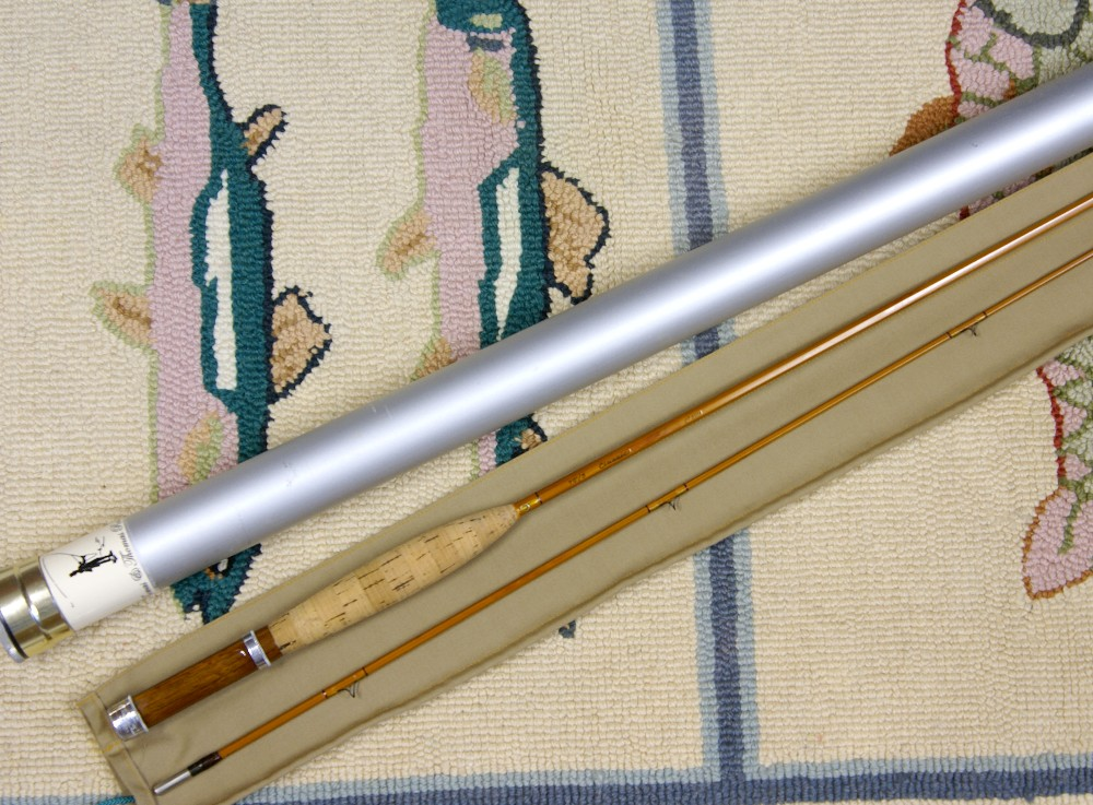 Vintage Thomas and Thomas Classic Bamboo Rod, J.D. Wagner, Agent
