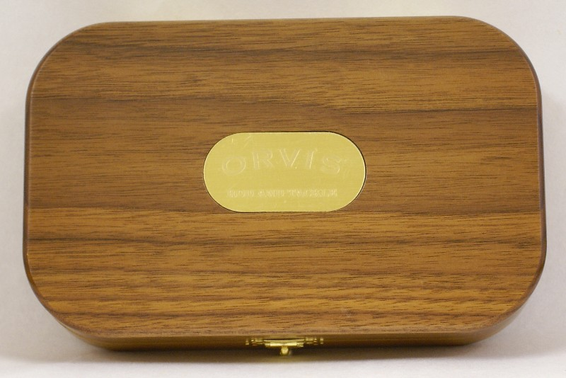 Vintage Wheatley Presentation Fly Box, J.D. Wagner, Agent